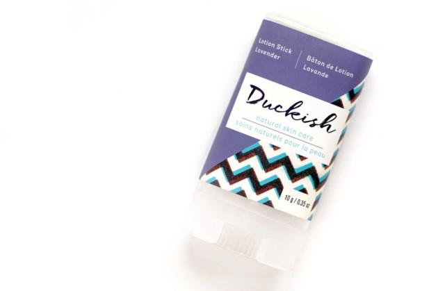 Duckish lavender lotion stick review