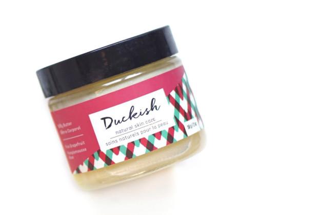 Duckish pink grapefruit body butter review