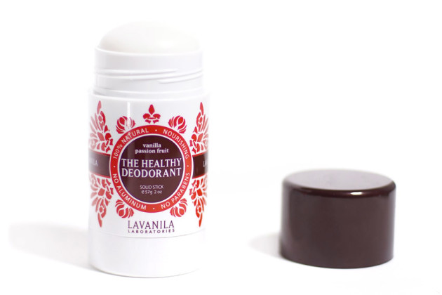Lavanila Vanilla Passion Fruit deodorant review