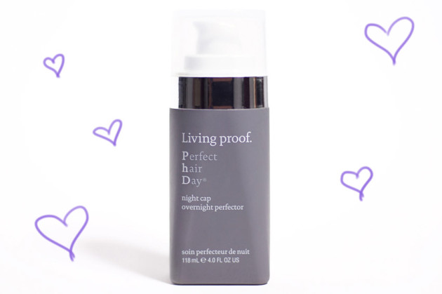 Living Proof PhD Night Cap overnight protector review