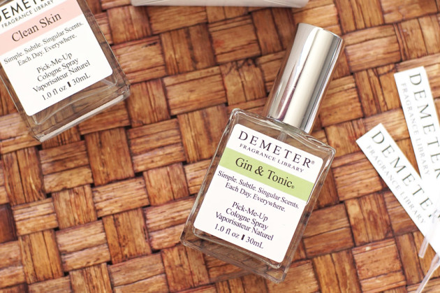 Demeter Gin and Tonic cologne review