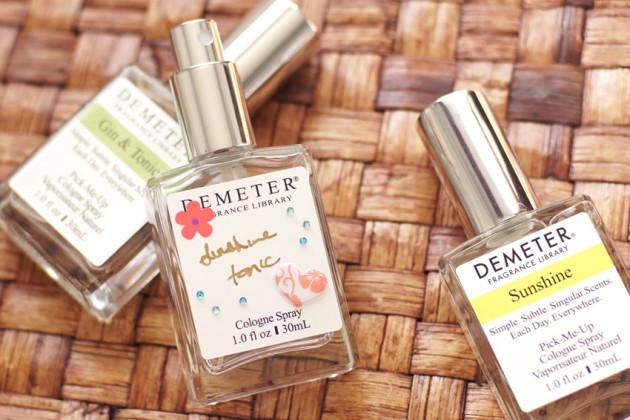 Demeter custom blending trio review