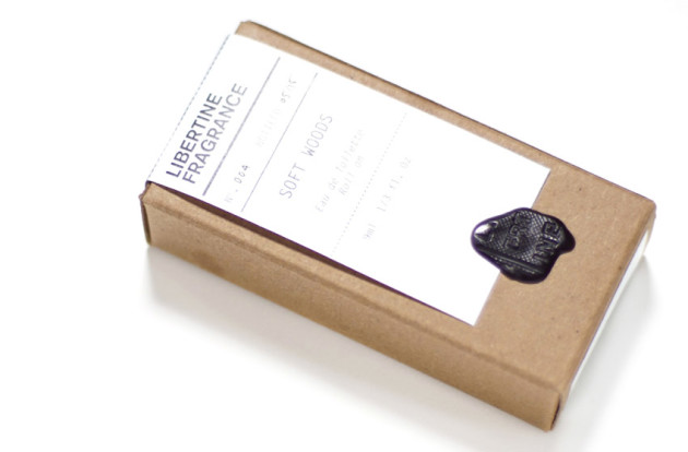Libertine fragrance review packaging