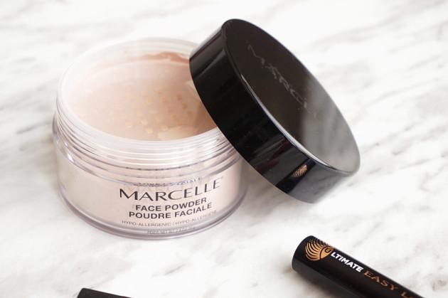 Marcelle translucent medium face powder review