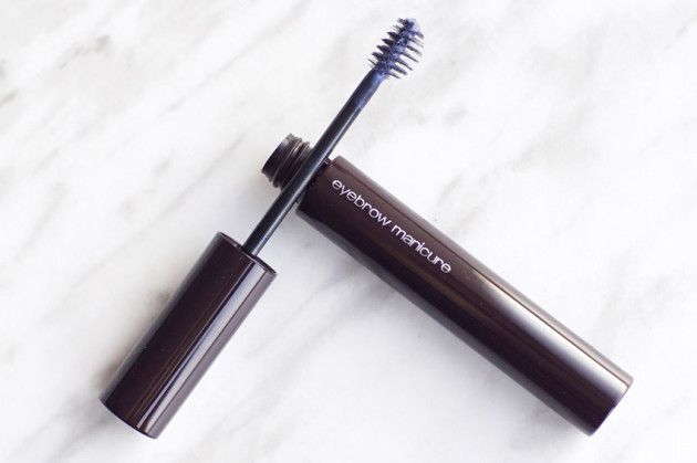 KYE for shu uemura eyebrow manicure dark violet review photos swatches