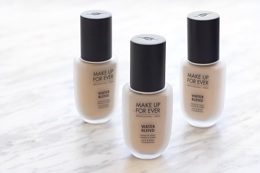 theNotice - Make Up For Ever Water Blend Foundation review ...
