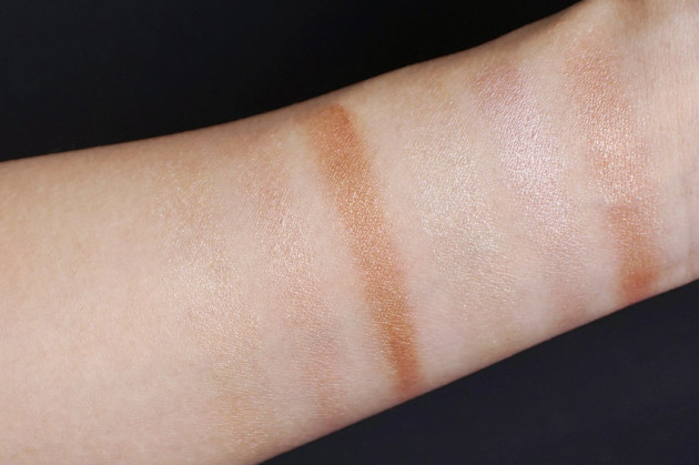 pur-minerals-sun-kissed-glow-illuminating-palette-swatches-review