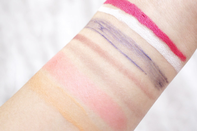 kye for shu collection swatches