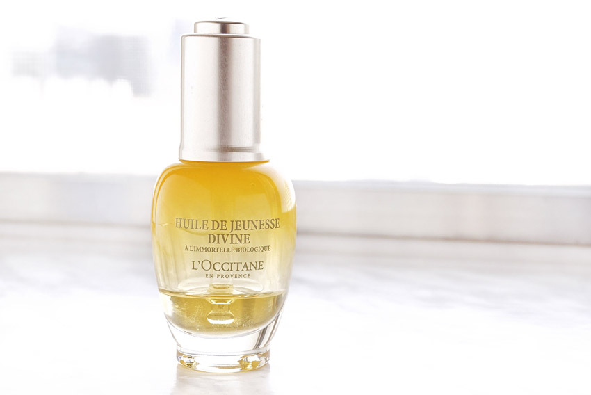 how to use l occitane divine youth oil