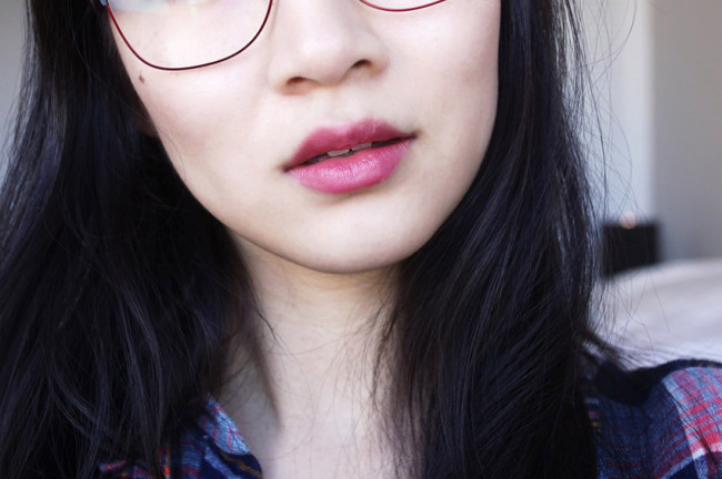 Lise Watier Kelly lipstick review photos swatches
