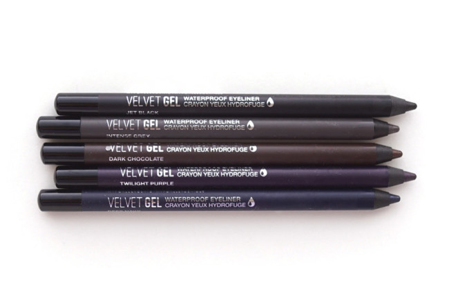 Marcelle Velvet Gel Eyeliner review photos swatches