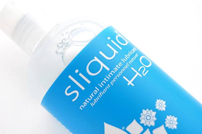 Sliquid H2O personal lubricant review