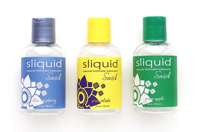 Sliquid Swirl flavoured all natural lube review