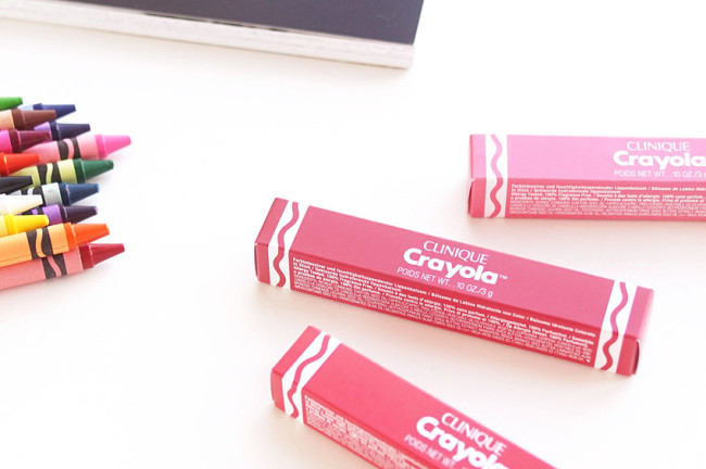 Clinique x Crayola Chubby Stick review photos swatches