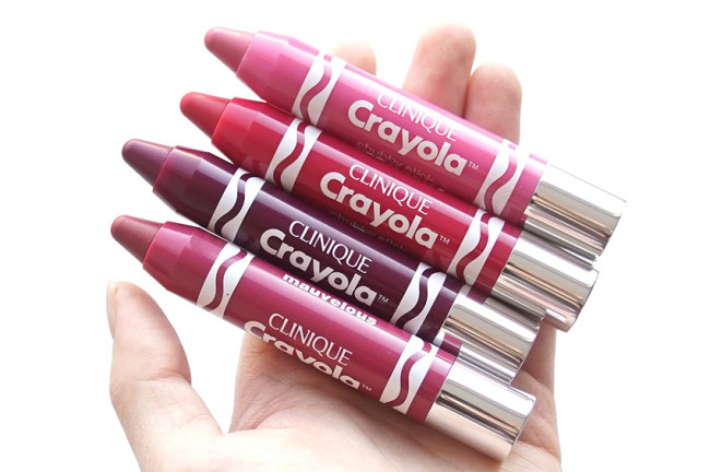 Clinique x Crayola Red Violet chubby stick intense review