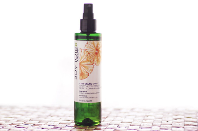 Matrix Biolage Anti-Static spray review