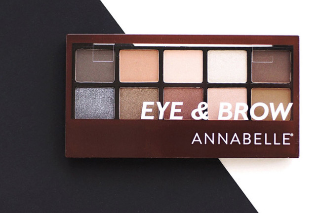 Annabelle eye and brow palette review