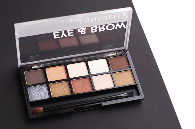 Annabelle eye and brow palette review - Canadian beauty