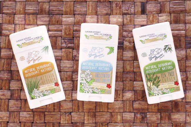 Green beaver tea tree deodorant review comparison