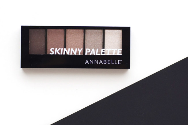 Annabelle skinny eyeshadow palette review