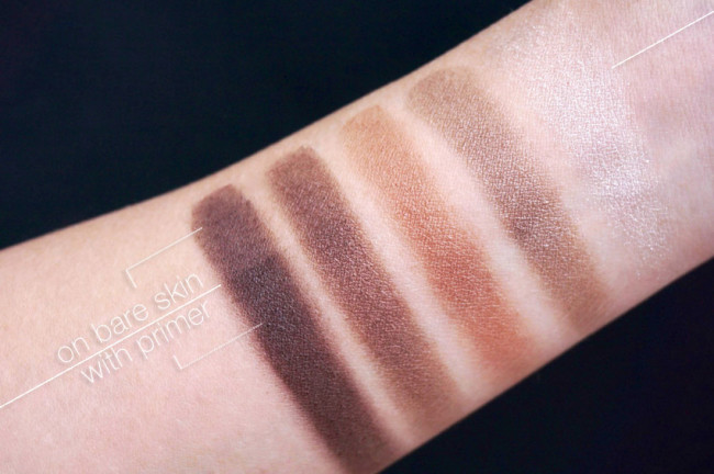 Annabelle skinny palette taupe neturals basics swatches review