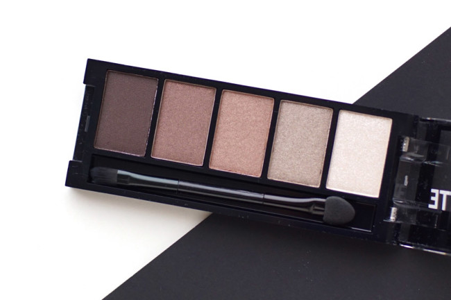 Annabelle Skinny Palette Taupe Neutrals Basics review swatches