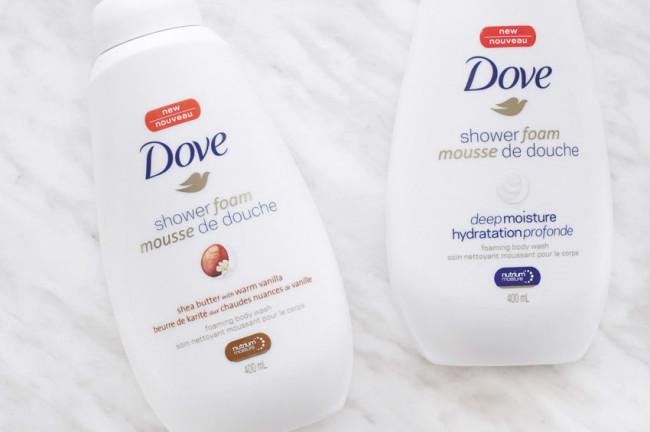 Dove shower foam deep moisture review