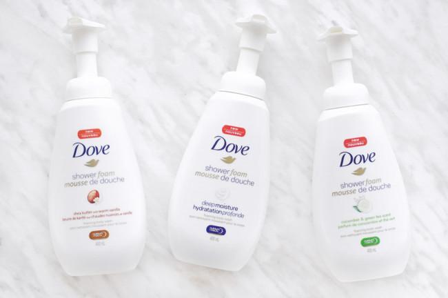 Dove Shower Foam review