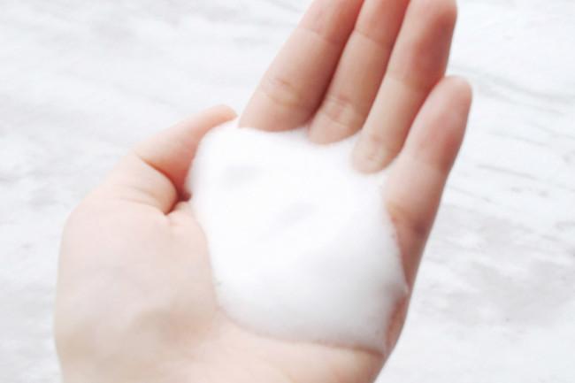 Dove Shower Foam texture review