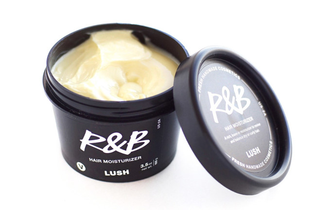 LUSH R&B Hair Moisturizer leave-in conditioner review