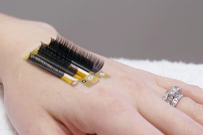 Custom eyelash extensions review