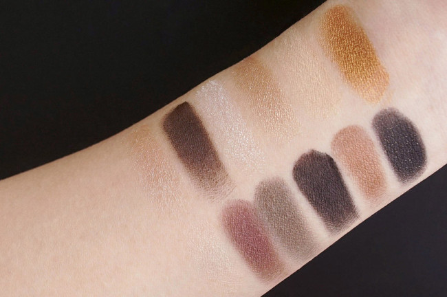 Maybelline 24k nudes eye palette review