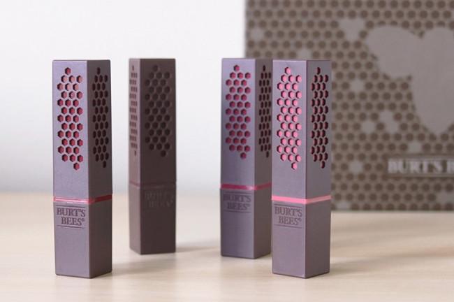 Burt's Bees lipstick review packaging