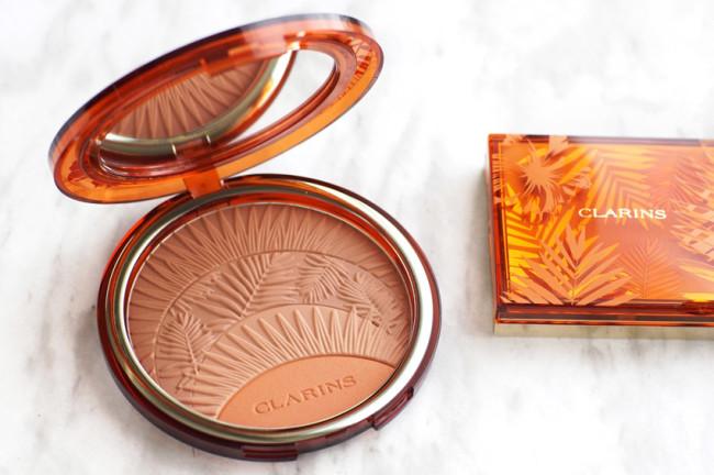 Clarins summer 2017 bronzer blush