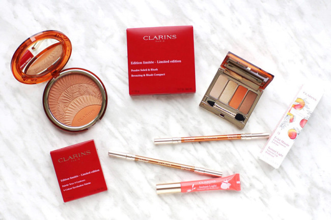 Clarins sunkissed makeup collection review summer 2017