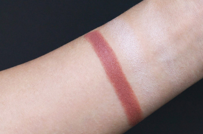 Burberry The Essentials lip colour fair swatch review