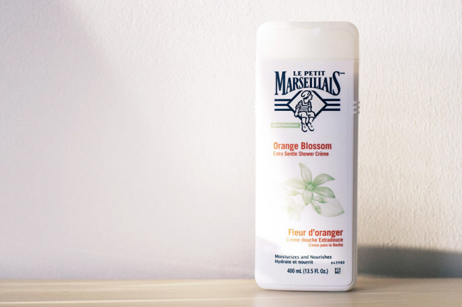 Le Petit Marseillais orange blossom shower creme review photos