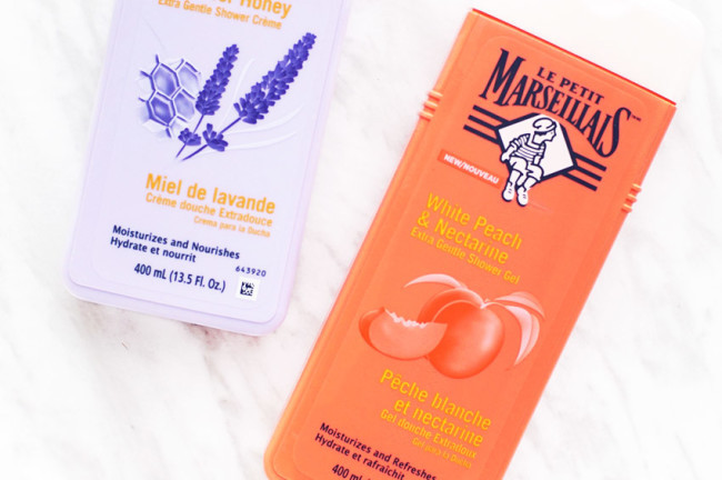 Le Petit Marseillais review white peach nectarine shower gel