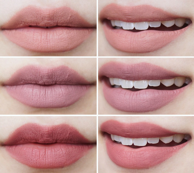 make-up-for-ever-artist-liquid-matte-swatches-103-105-109