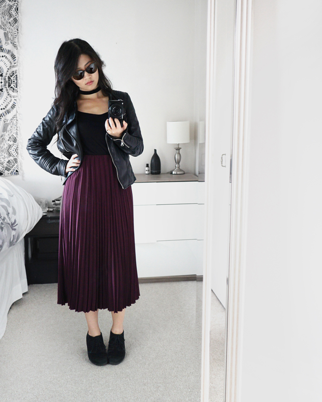 e7112bb04 theNotice - BonLook review: Imagine II + Uniqlo Crepe Pleated Skirt ...