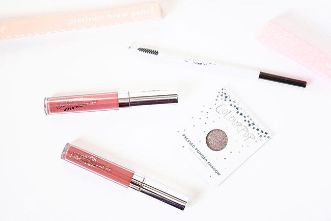 ColourPop review: Zuma (Blotted), Flurries (Matte), and Glass Bull swatches & photos