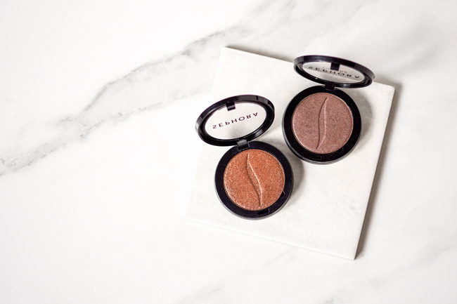Silicone-free eyeshadow from Sephora review comparison