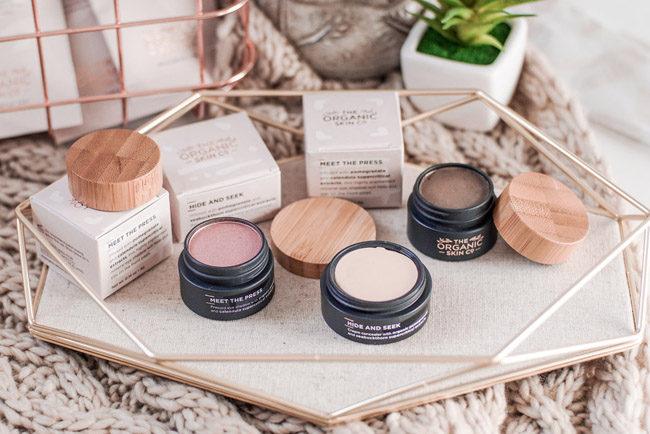 The Organic Skin Co. review meet the press eye shadow
