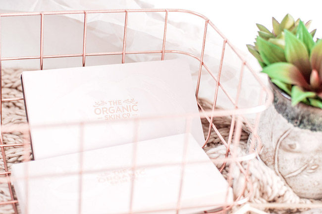 The Organic Skin Co. packaging review